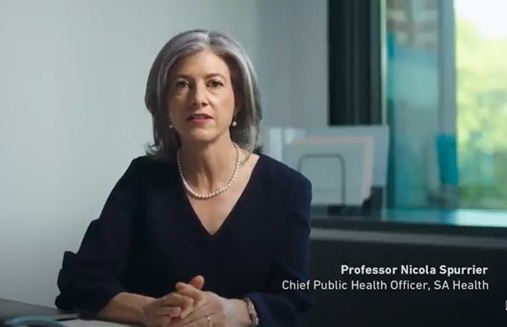 Nicola Spurrier, chief public health officer, SA Health