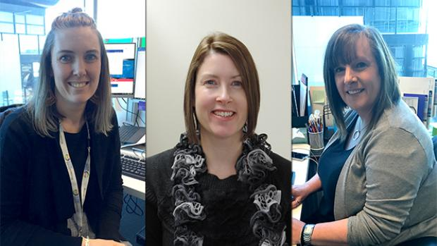 Janet Callus, Melissa Thompson and Jane Bilberry, Education Standards Board moderators