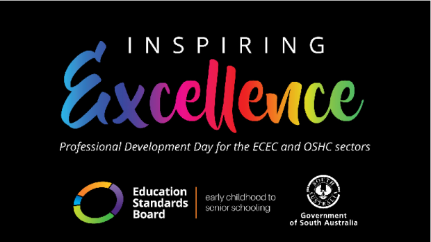 Promotional material for 'Inspiring Excellence' professional development event