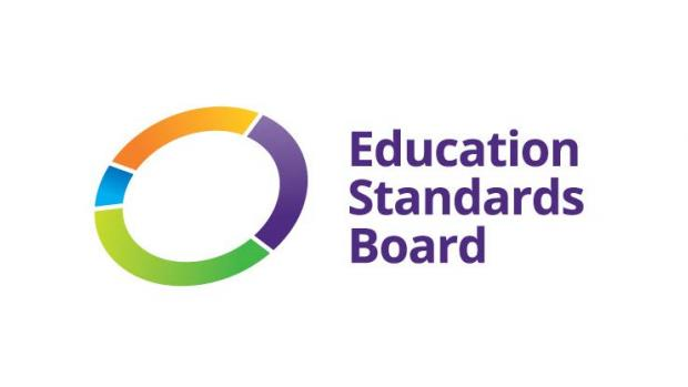 Education Standards Board logo in colour