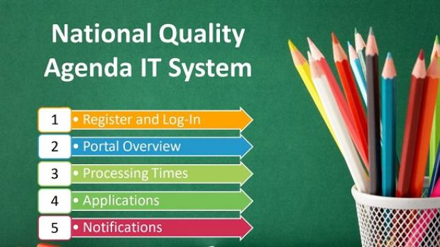 Image of information on NQA IT System on ACECQA webite
